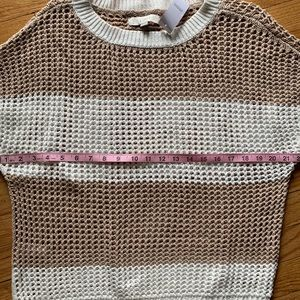 LOFT Tops - 100% Cotton Knit Pullover Sweater Top